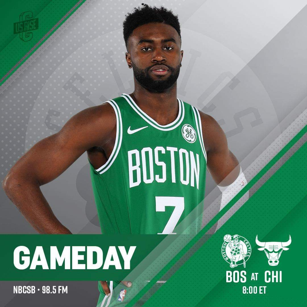 #CUsRise #Celtics  📍 United Center  🕗 8:00 p.m. 📺 NBC Sports Boston  🤳 http://bit.ly/2DaJ7wk   🎙 98.5 The Sports Hub