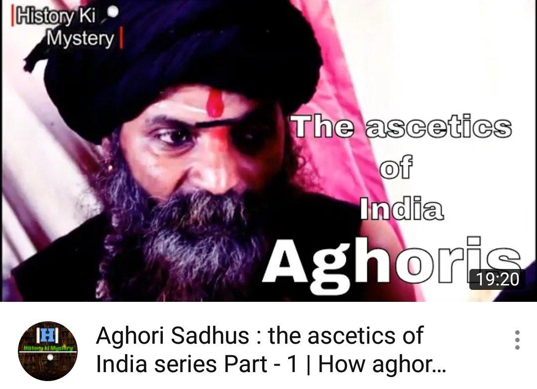 aghoris hashtag on Twitter