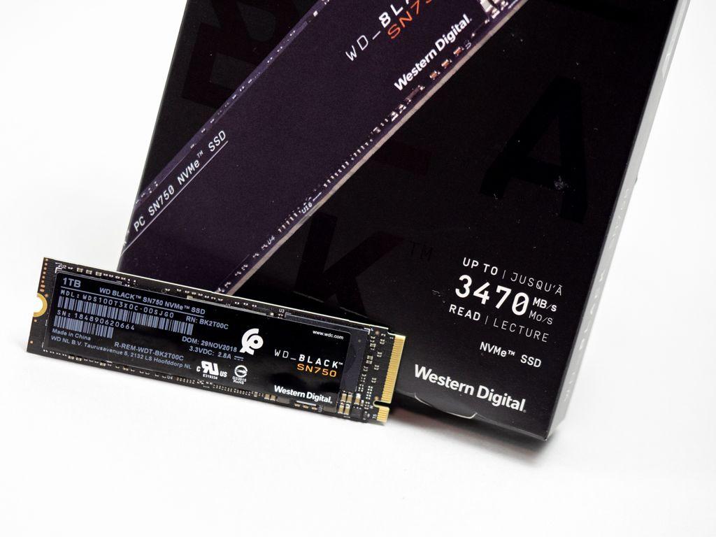 WD Black SN750 NVMe SSDの実力をチェック https://t.co/yejnnas4iw