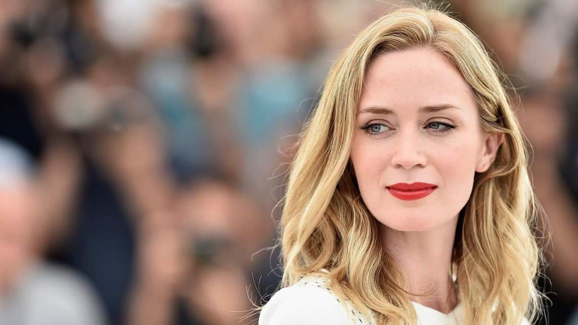 My favorite, lovely actress turns 36 today. Happy birthday, Emily Blunt
