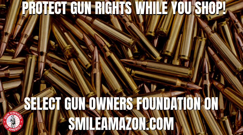This is probably the easiest way to defend the 2A! Every time you buy something through Amazon, a portion of your purchase goes to support your gun rights. So make sure to bookmark this link --smile.amazon.com -- and select Gun Owners Foundation. <br>http://pic.twitter.com/KVH078iJCW