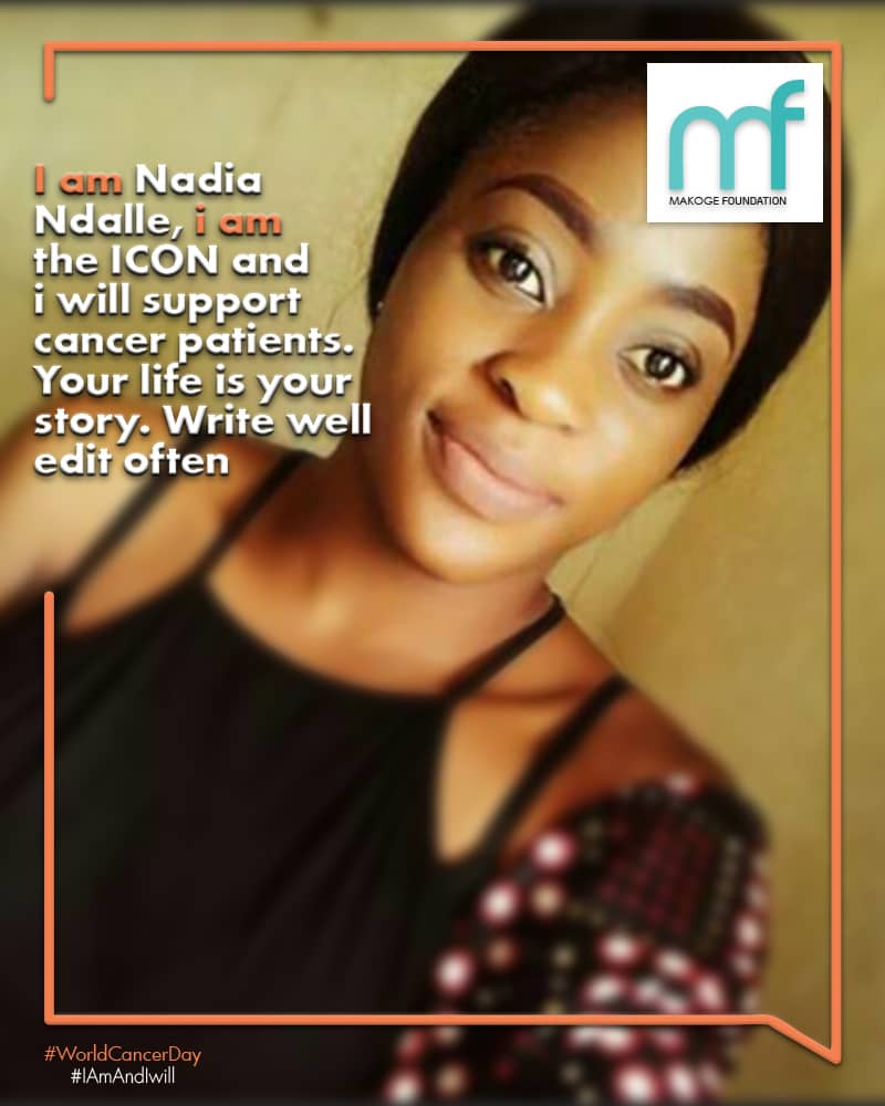 #nadia shares her personal commitment #iamAndIWill  message  #makogefoundation  #worldcancerday   #cancereveryday  #who #cancer #health<br>http://pic.twitter.com/UnjAIUSbMP