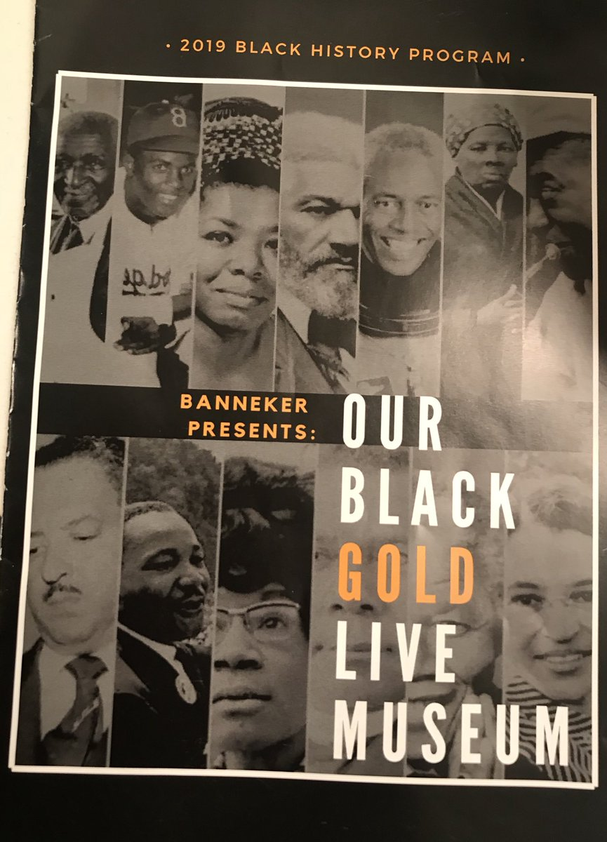 "dfe8cad9e The staff   students  KCPS Banneker brought history to life today through  the Black History Production of the ""Black   Gold Live Museum""! So very  proud!"