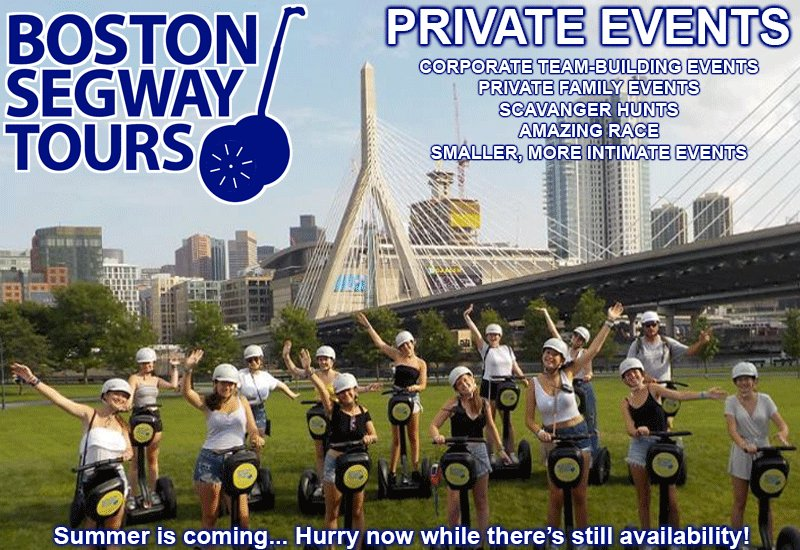 Book a #Segway #Tour in #Boston today! Whether it is a #corporate or a #family #event, it's always unforgettable 🤩http://www.bostonsegwaytours.net