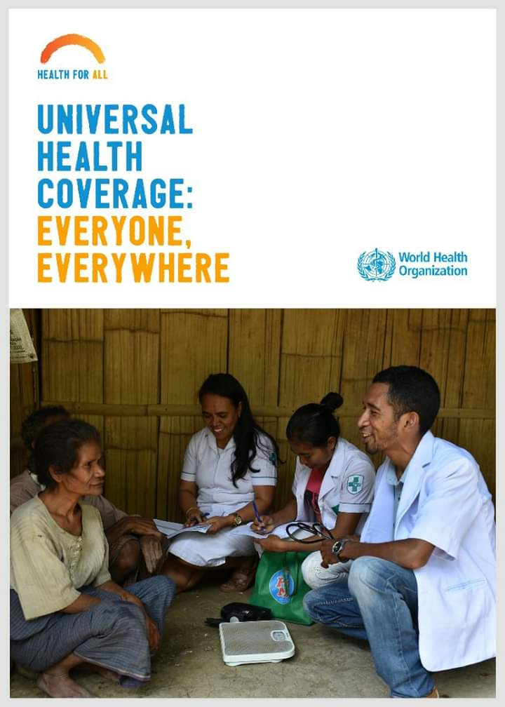 &quot;Universal health coverage has the power not only to transform the health of populations, but to transform economies &amp; change the trajectory of nations.Primary health care is the bedrock of universal health coverage, &amp; must be the focus of action in all our countries&quot;- @DrTedros<br>http://pic.twitter.com/Ci3GhTLUBw
