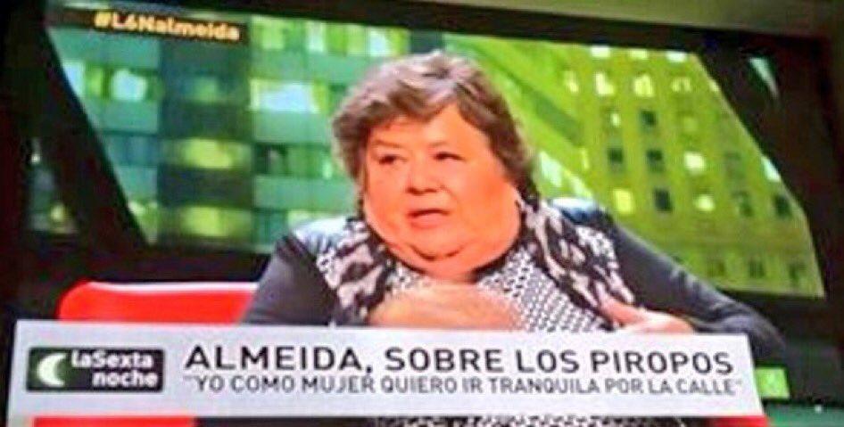 """El Aguijón 🐝 on Twitter: """"Cristina Almeida, la voz del pueblo #L6NAlmeida…  """""""