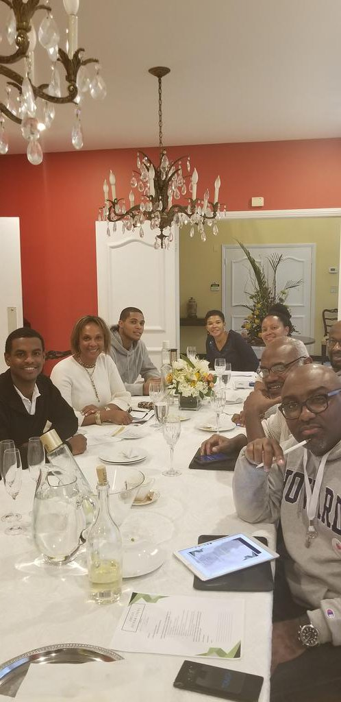 JHUAN fundraising committee meeting today at the residence of Jamaican Ambassador Audrey P. Marks <br>http://pic.twitter.com/s99kmjjVvh