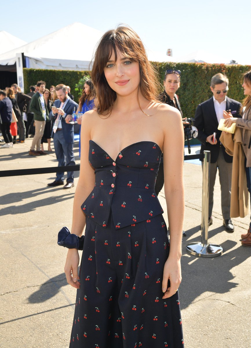 4e39c4f92a09b Dakota Johnson at the  SpiritAwards was really the 🍒 on top of our day.