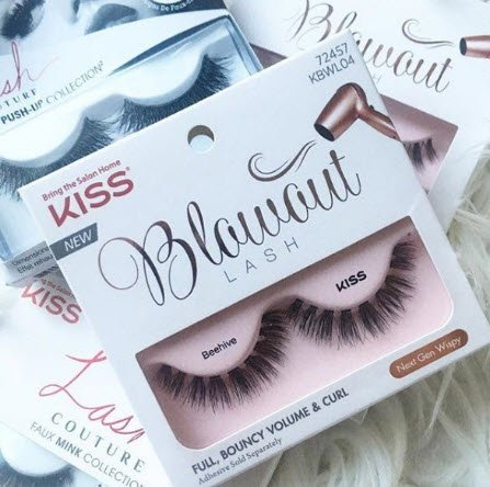 5635f3e7cca ... lashes ¯\_(ツ)_/¯ Create the perfect Saturday night look with the one and  only Blowout Lash in style 'Beehive'! #KISSlashes #BlowoutLash  #NextGenWispy ...