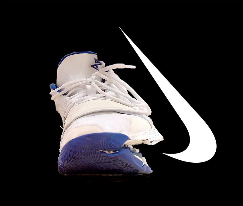 model #Kine! #Nike #basketball #fail