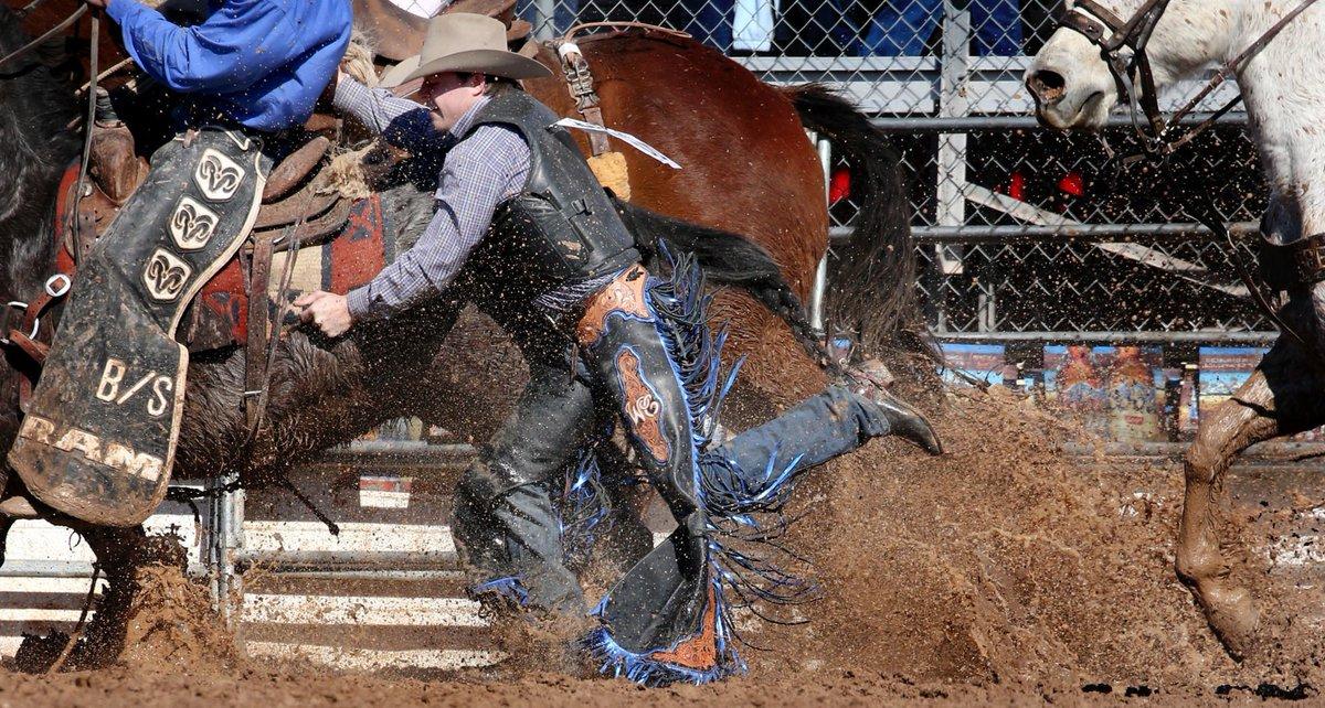 d1884a586c cowboy protectors tested during muddy saturday at la fiesta de los vaqueros