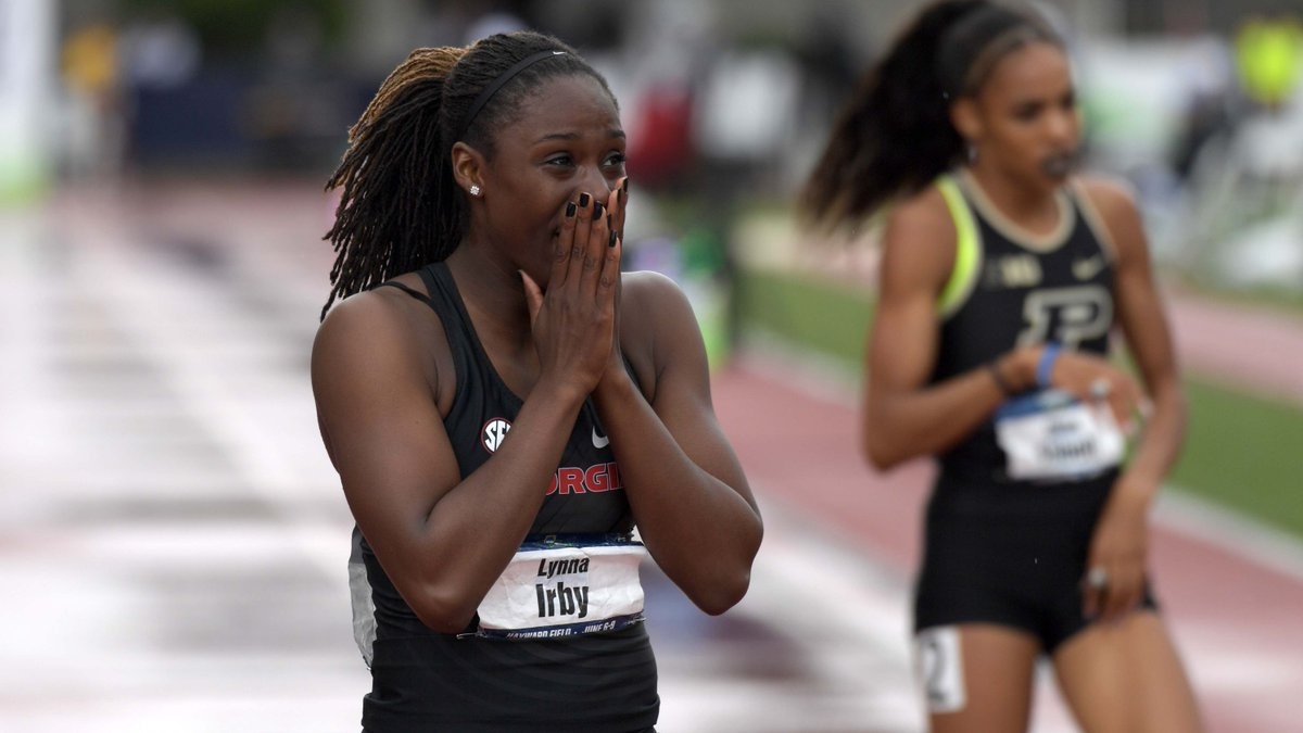 Lynna Irby runs NCAA's fastest 400; Indiana men, women 2nd in Big Ten track https://t.co/6qBkKs14XD
