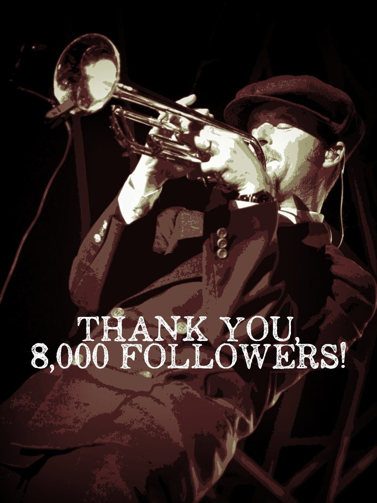Big Bad Voodoo Daddy is thankful and grateful for helping us reach 8k followers of our 10k goal!   If you haven't already, follow Big Bad Voodoo Daddy on Instagram here:  https://www.instagram.com/bigbadvoodoodaddyofficial/…  Thank you, @BBVD is grateful!  #25yearsofbbvd #swingmusic