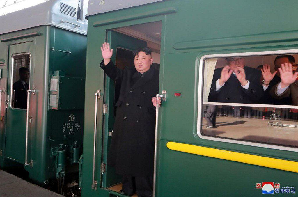 North Korean leader Kim leaves by train for summit with U.S. in Hanoi - KCNA https://t.co/vUV9cRd3wz