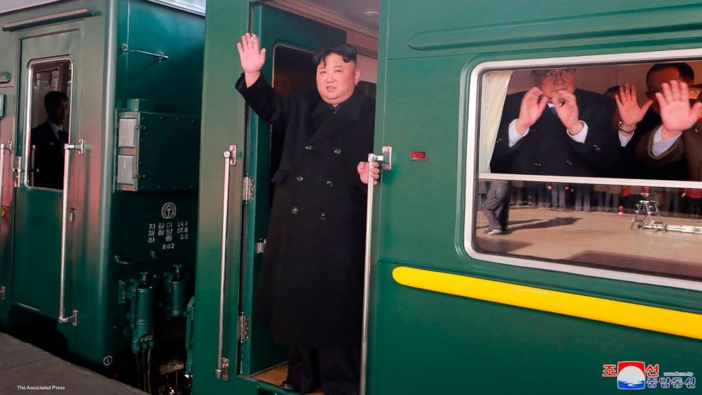 North Korean state media confirmed leader Kim Jong Un is on a train to Vietnam for his second summit with President Donald Trump.  https://t.co/id4X6hSsMl