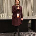 Image for the Tweet beginning: Susan Toomey, MS, kicks off