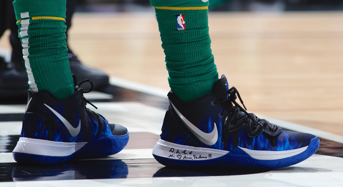 30f34d2f75e4 kyrieirving reppin the brotherhood in dukembb nike kyrie 5 pes nbakicks