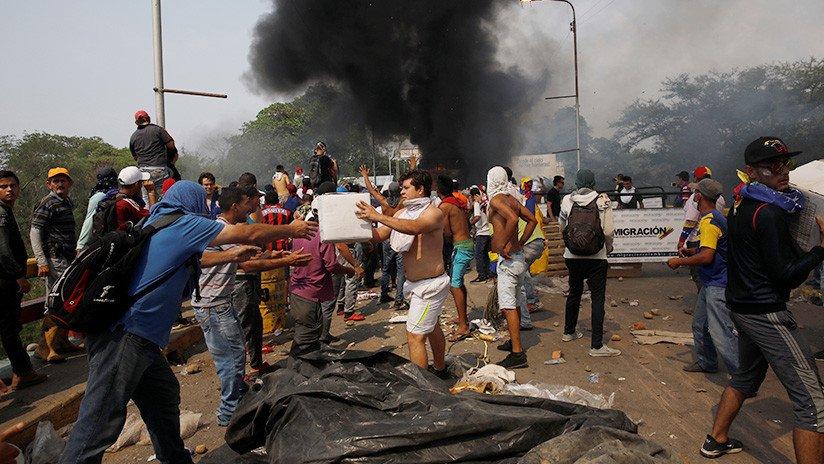 Resultado de imagen para violencia opositora ureña