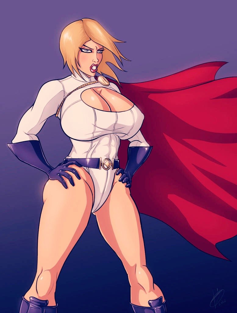 Power girl and supergirl naked