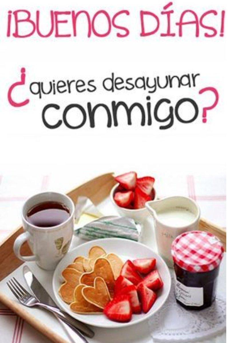 """Lu🌸cía Twitterissä: """"#BuenosDias Quieres desayunar conmigo? Café, té,  tostadas, fruta... Desayuno para dos con olor a café recién hecho y tostadas  calentitas. Y acompañado de mucho amor! 💙 Y sonrisas...de las que"""