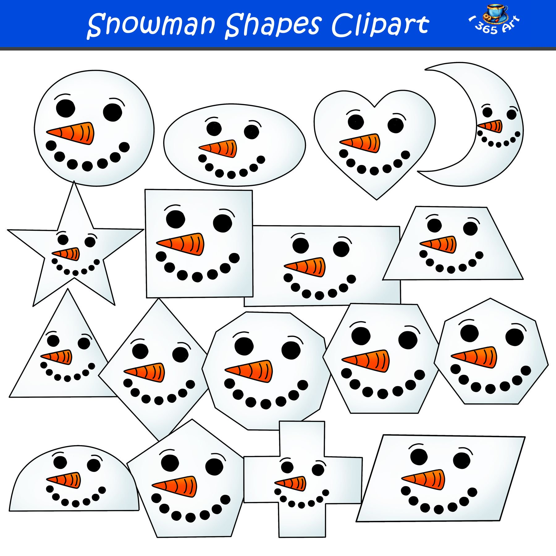 Free To Use Public Domain Snowman Clip Art - Snowman Clipart - 500x500 PNG  Download - PNGkit