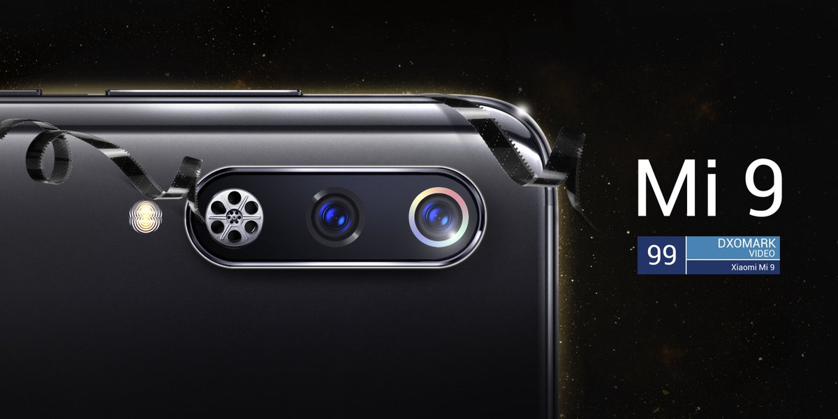 The best video smartphone of the year goes to... #Mi9!!! #oscars2019  Because #DetailsMatterToMi, let's #MakeItHappen