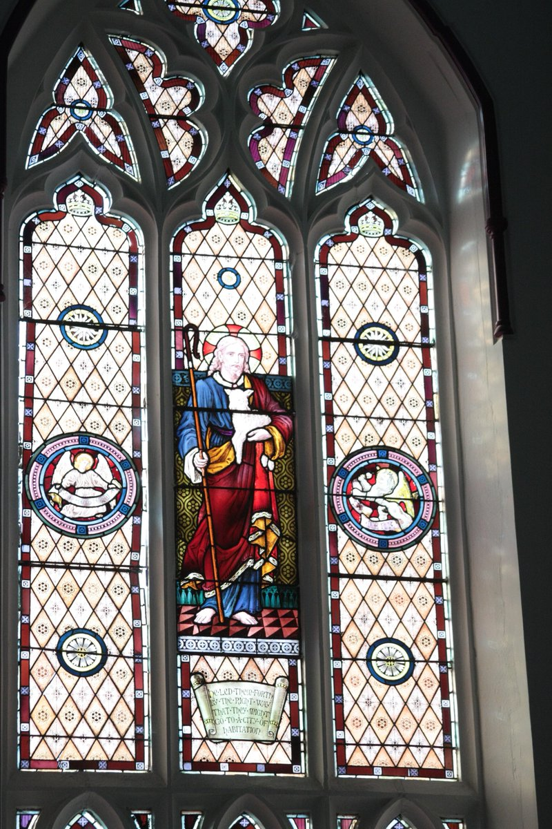 Our beautiful stain glass windows light up as the sun shines into Ipswich International Church  #IICelim #ElimIpswich #Church #Stainglasswindows