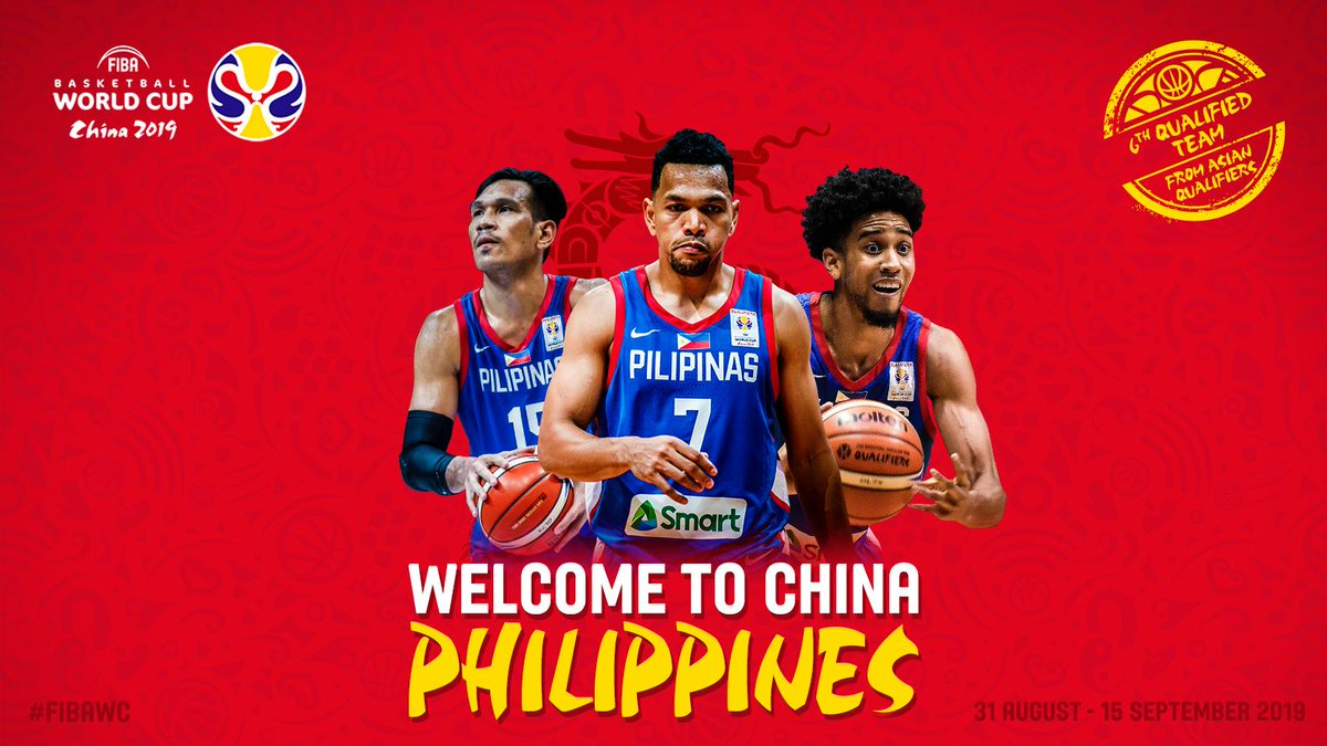 🇵🇭 All The Philippines' islands are bouncing tonight after their national team qualified to the #FIBAWC!!! Congratulations!