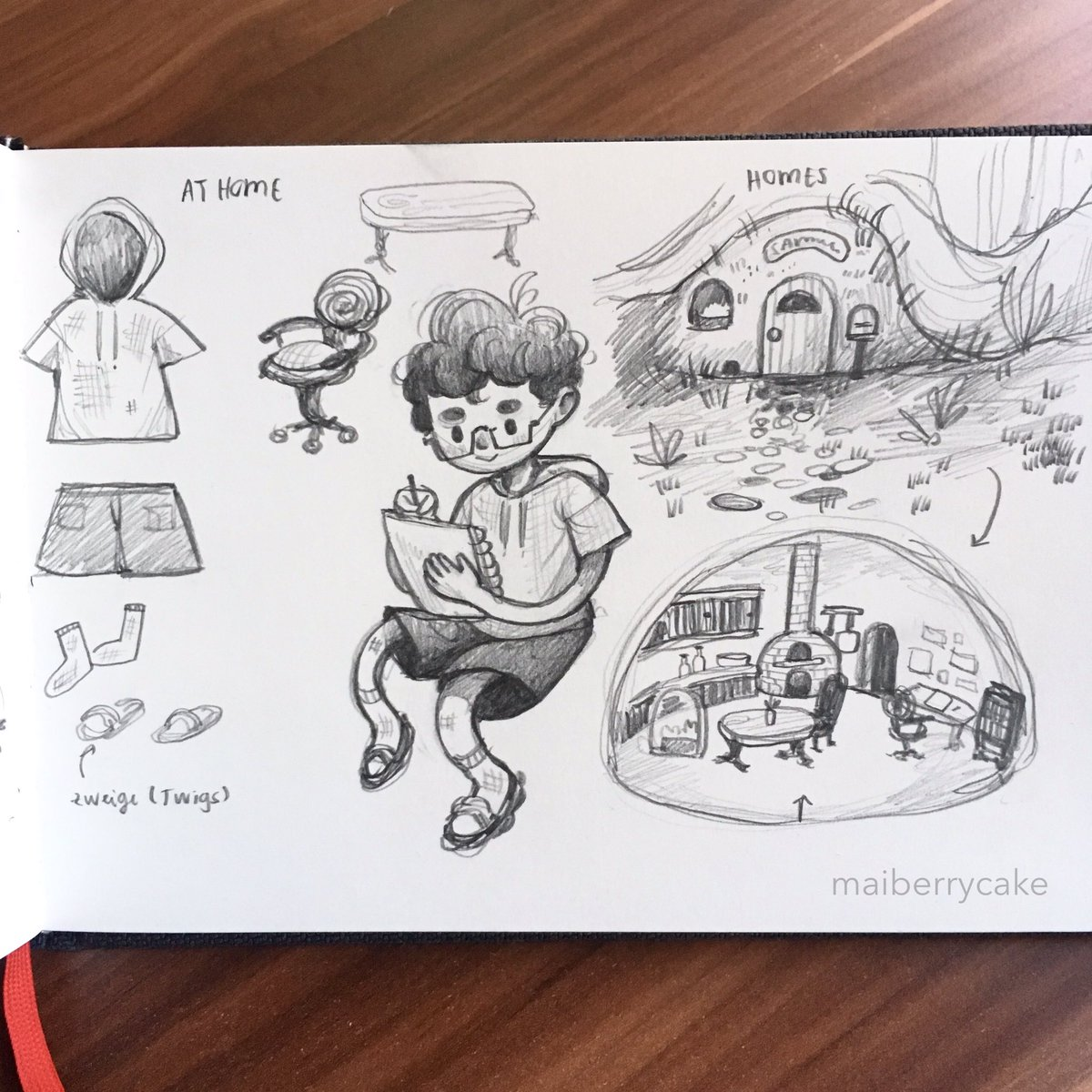 Mai's Sketchbook D0L75enXcAA6wwX