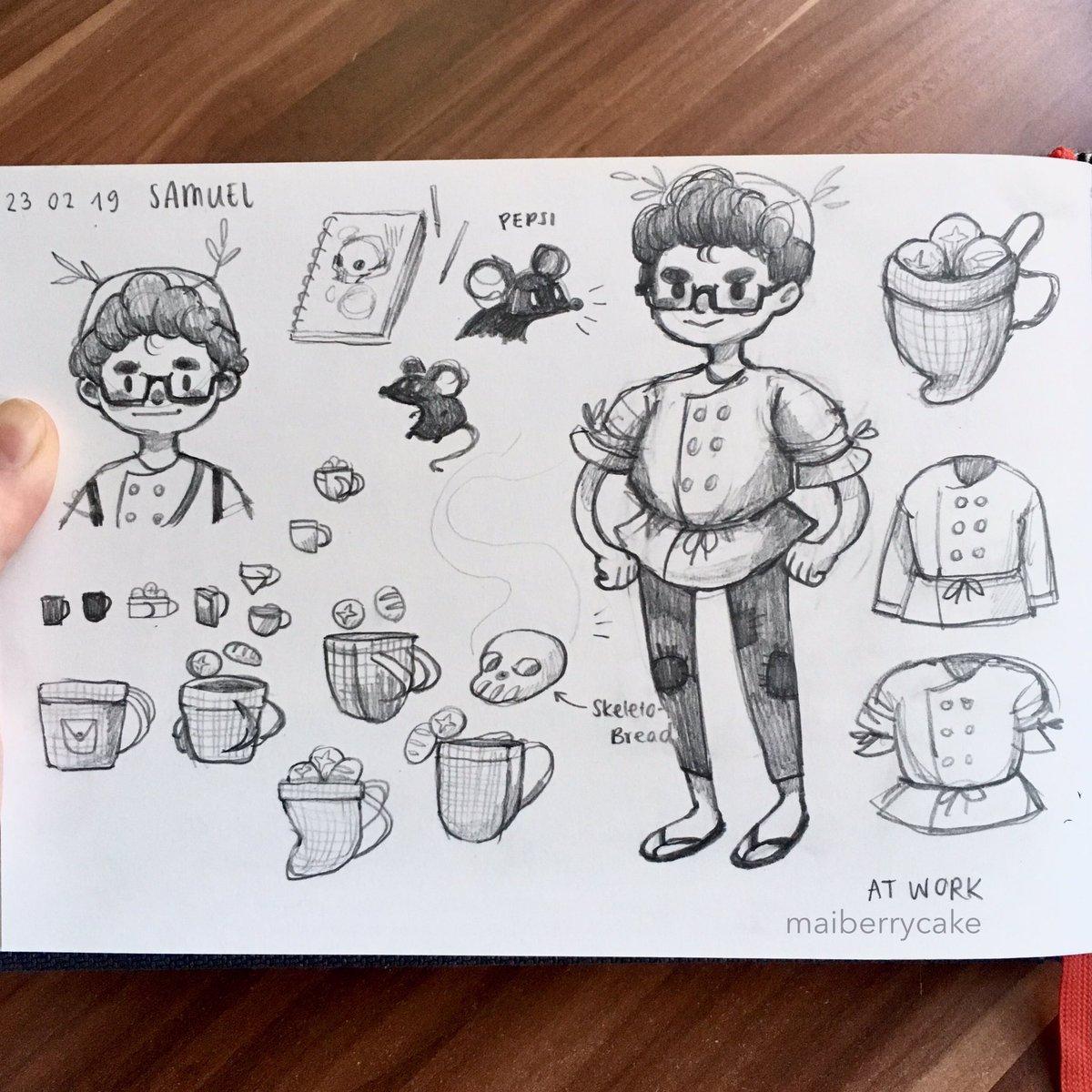 Mai's Sketchbook D0L75ivXcAAoLi8