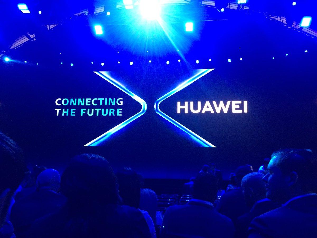 Début d'après-midi avec les annonces de Huawei à partir de 14h. #MWC19