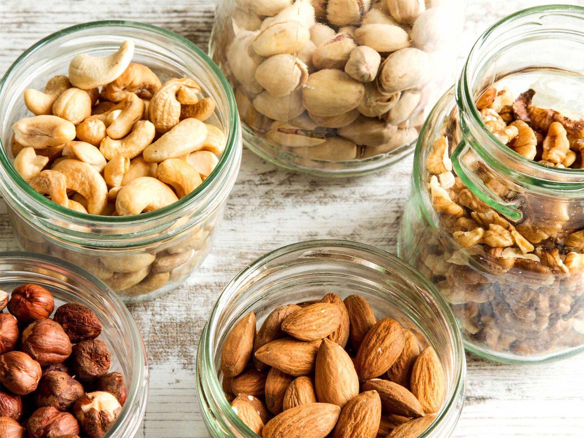 Орехи для похудения мужчин