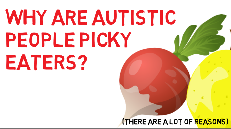 autismacademy: Why are #autistic people picky eaters? See out animation on why: https://youtu.be/nVxc_3jRgSs  pic.twitter.com/TtDSnsd6r9 https://tmblr.co/ZrI7MaYcIQ1quu00 …