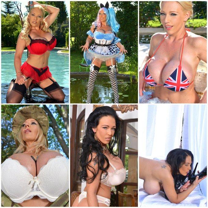 #Selling #RetweeetPlease each set of swimwear, bra's, panties, stockings and black heels worn in the