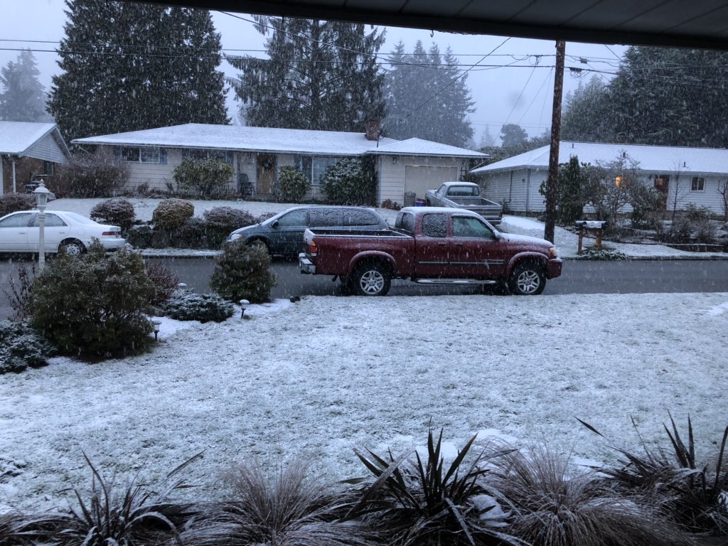 Everett weather snow