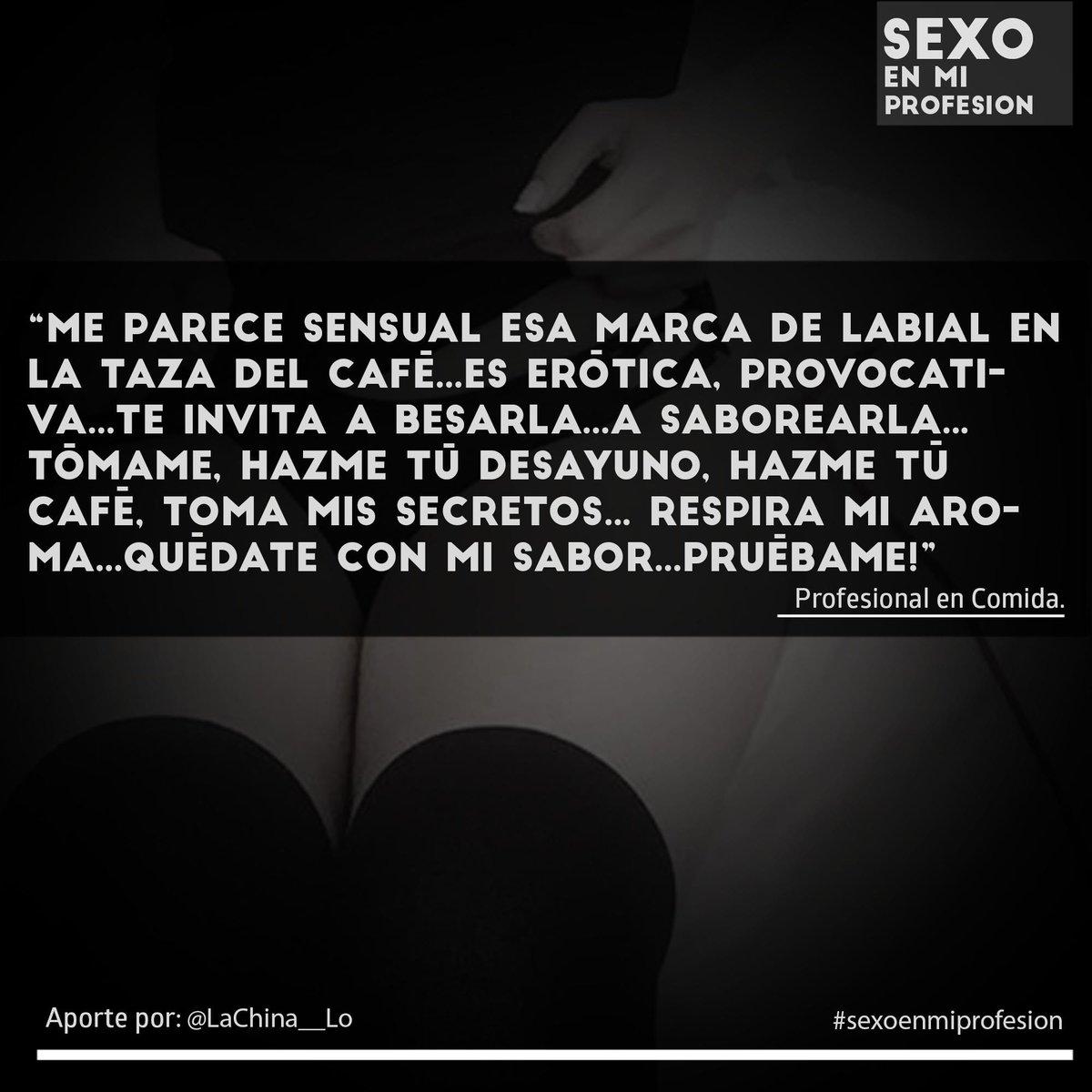 Sexoenmiprofesion On Twitter Aroma De Cafe Bienvenidos A