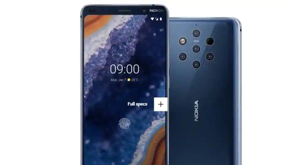 Nokia 9 PureView launched in Mobile World Congress 2019 with 5 camera