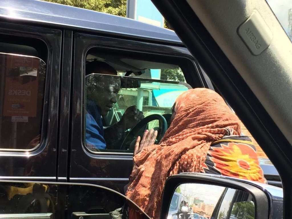 Image result for Uhuru Driving himself in a jeep