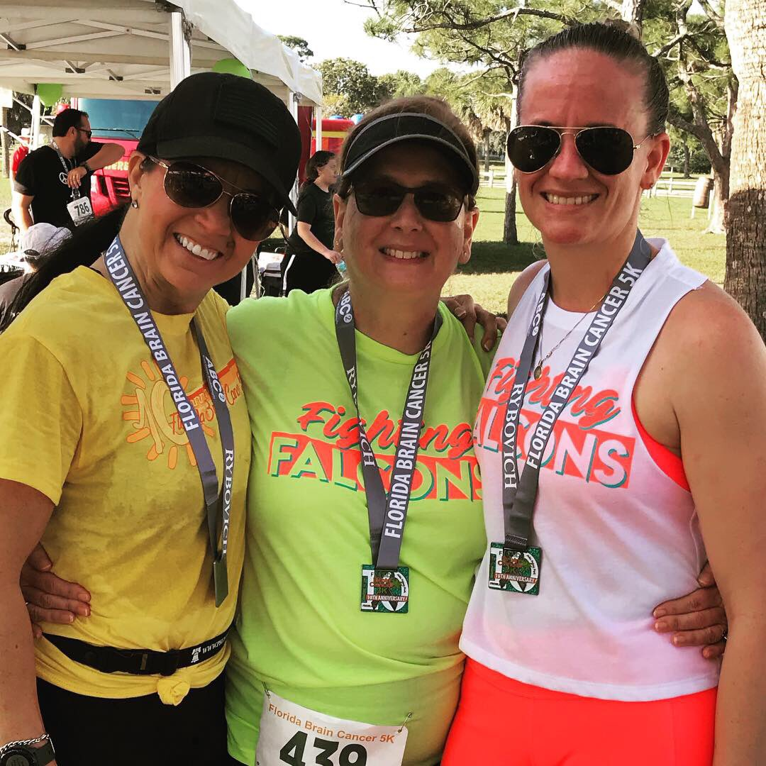 A big thank you too all of the Falcons and honorary Falcons who joined us this year at the Florida Brain Cancer 5k. #abc2 #fbc5k @FHH_FalconFury @_LoCook