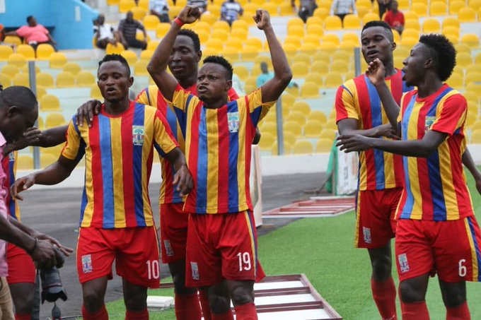 Special Competition: Joseph Esso scores twice as Hearts beat struggling Ebusua Dwarfs