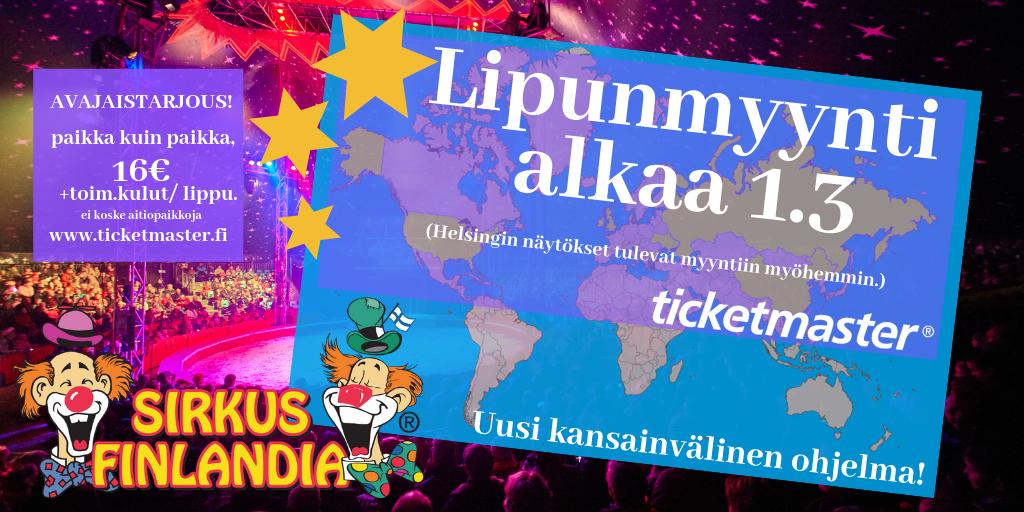 Sirkus Finlandia Sirkus sirkusfinlandia Finlandia Twitter fHqa0xwdq
