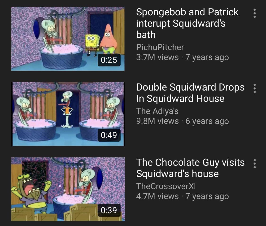 Plainrock124 On Twitter Im So Happy That The Squidward Bathtub