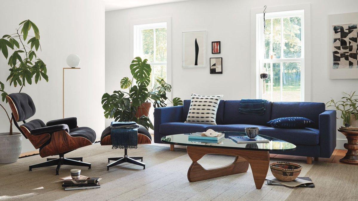 "Eames Lounge Chair Living Room herman miller on twitter: ""an eames lounge chair, lispenard"