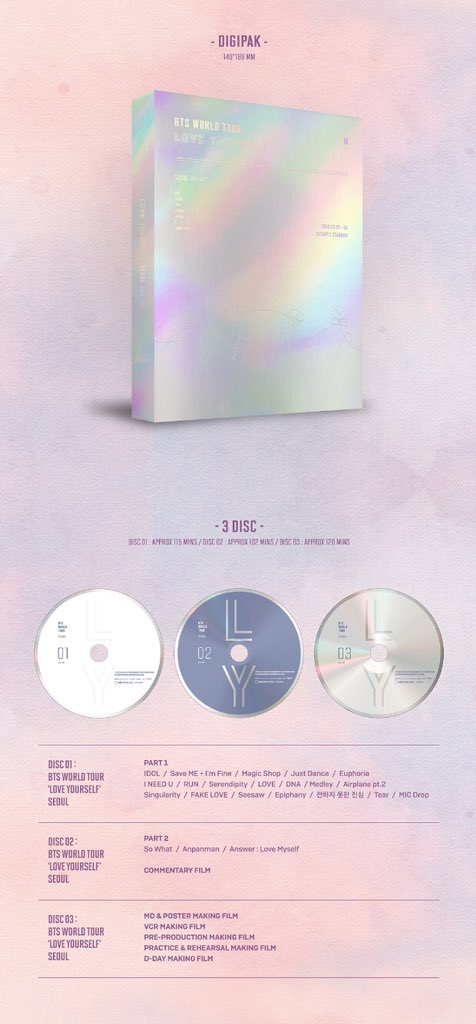 Bts love yourself in seoul dvd amazon