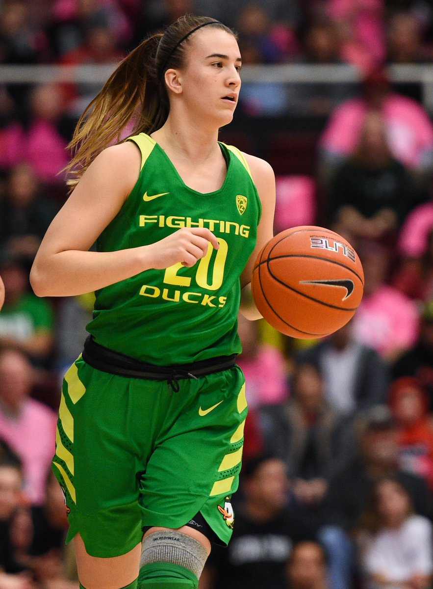 History Eugene Oregon Ducks Star Sabrina Ionescu Sets