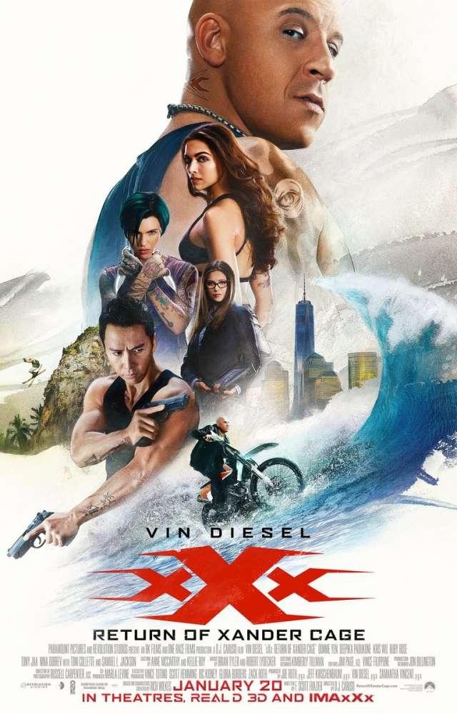 xXx: Return of Xander Cage was released on this day 2 years ago (2017). #VinDiesel #DeepikaPadukone - #DJCaruso