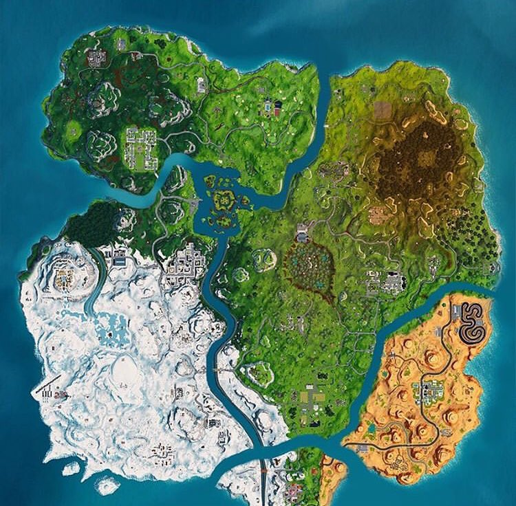 Mapa Temporada 8 Fortnite.Fortnite Info A Twitter Concepto E Idea De Mapa Para La