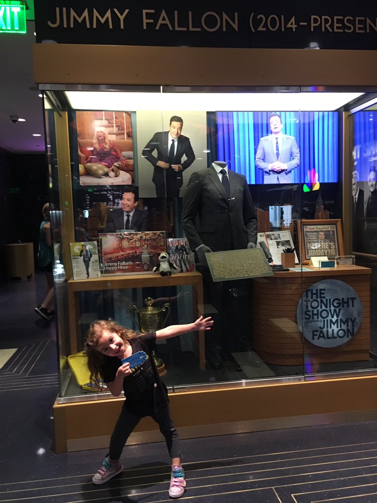 @jimmyfallon My granddaughters FAVORITE thing to do at Universal!