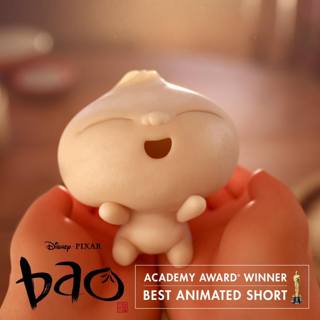 .@DisneyPixar's #Bao wins the Academy Award for Best Animated Short! #Oscars