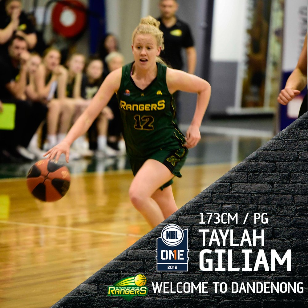 Dandenong Basketball is pleased to announce that Taylah Giliam has signed on for the 2019 @NBL1HQ Season, with the Gippslander returning after a great @WNBL season. READ: bit.ly/taylahsigns Welcome back Taylah! #GoRangersGo #WelcomeToDandenong #NBL1 #RangerDanger